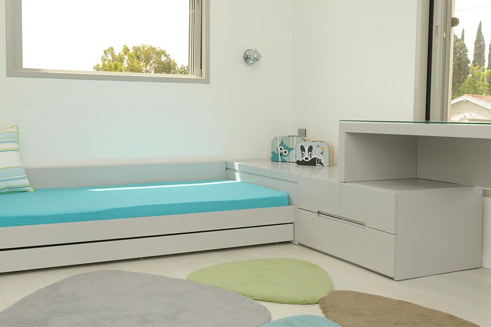 מיטה נמוכה לחדר ילדים