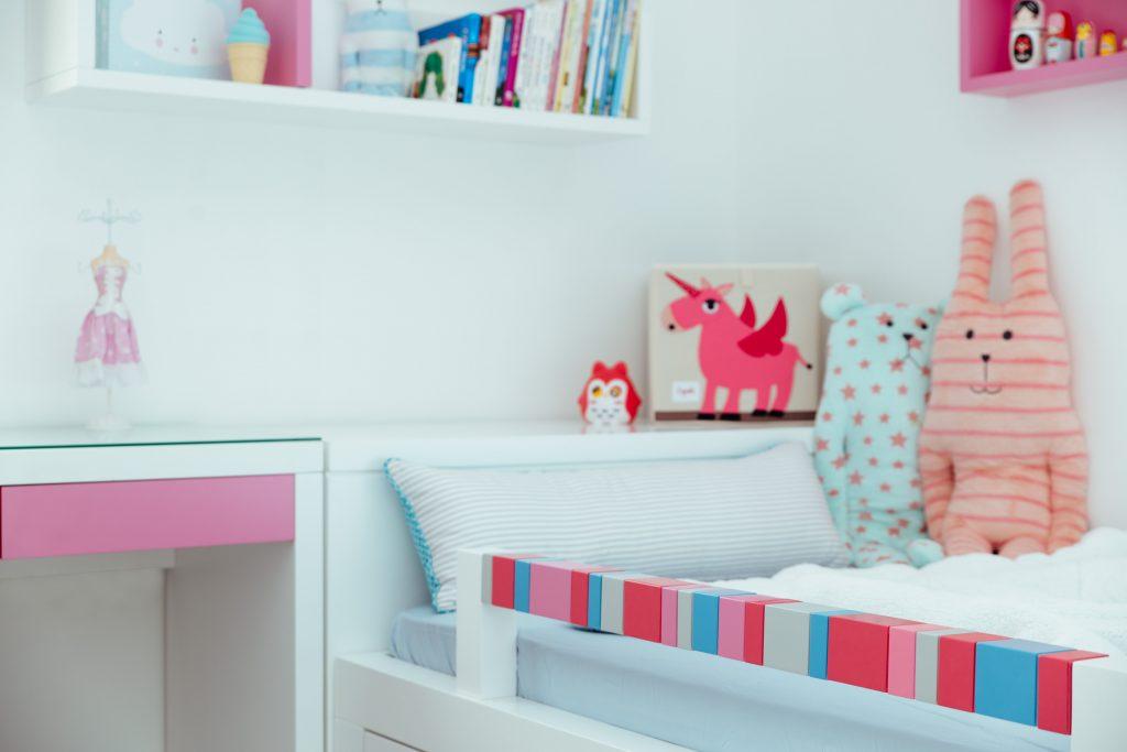קרש בטיחות צבעוני למיטת ילדים