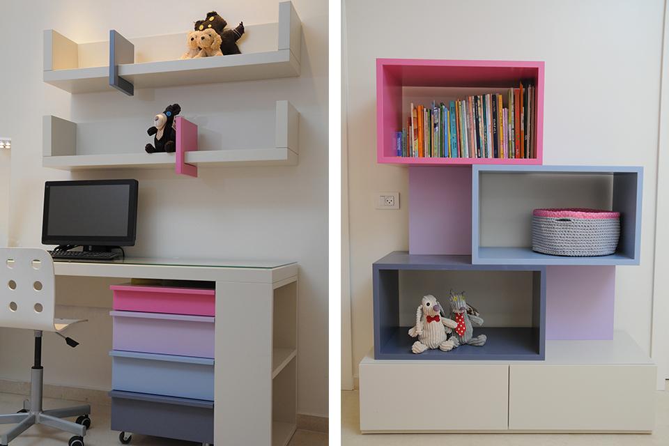 פתרונות אחסון לחדרי ילדים