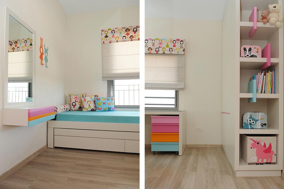 חדרי ילדים צבעוניים