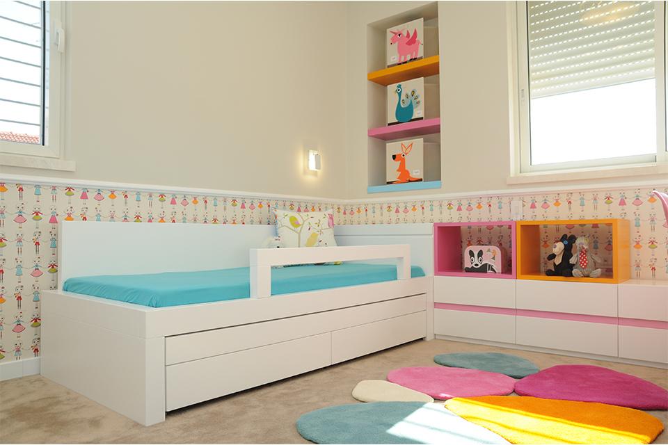 מיטת יחיד לחדרי ילדים