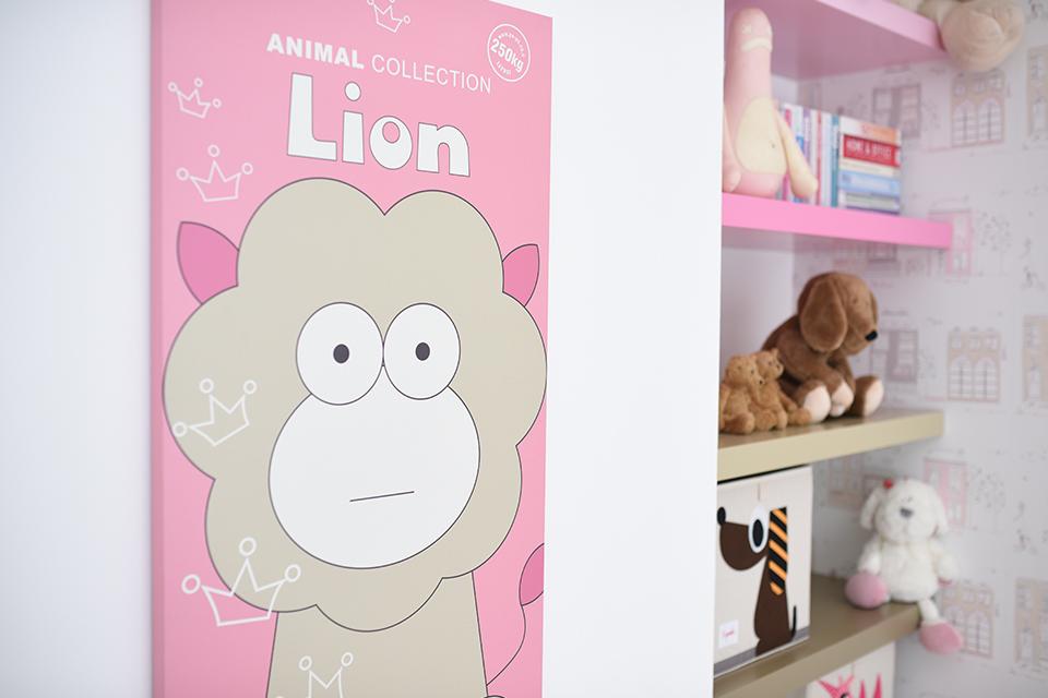 תמונת אריה בעיצוב מקורי