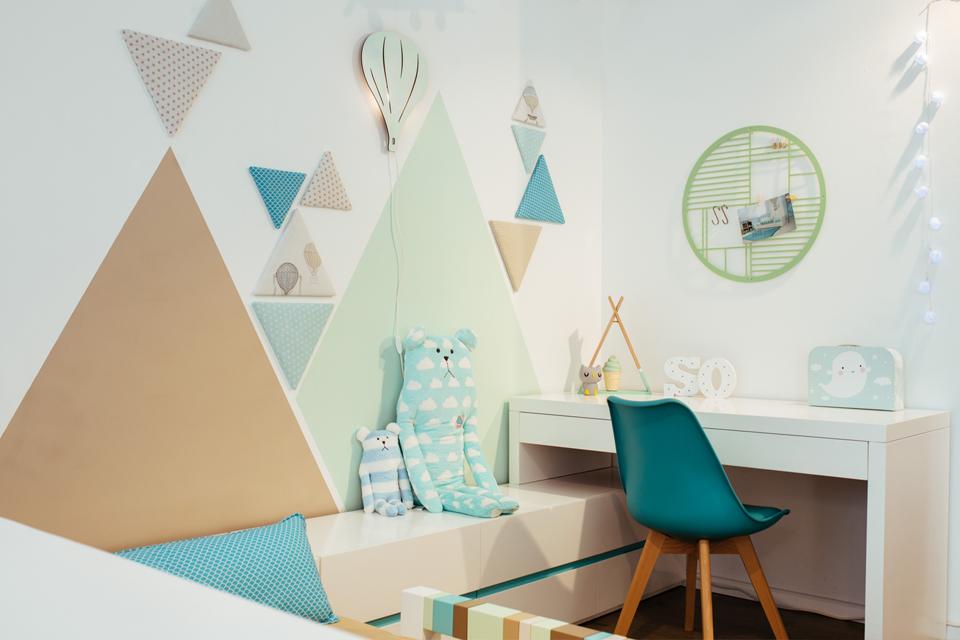 עיצוב קיר חדרי ילדים ונוער