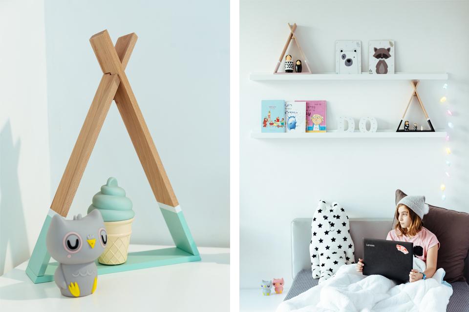 אלמנטים לעיצוב חדרי ילדים ונוער