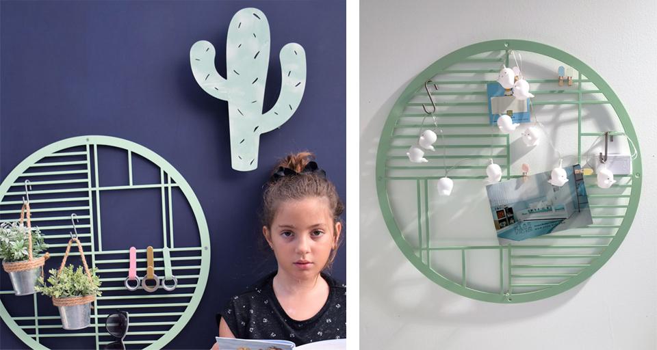 לוח השראה מגנטי לחדר ילדים ונוער