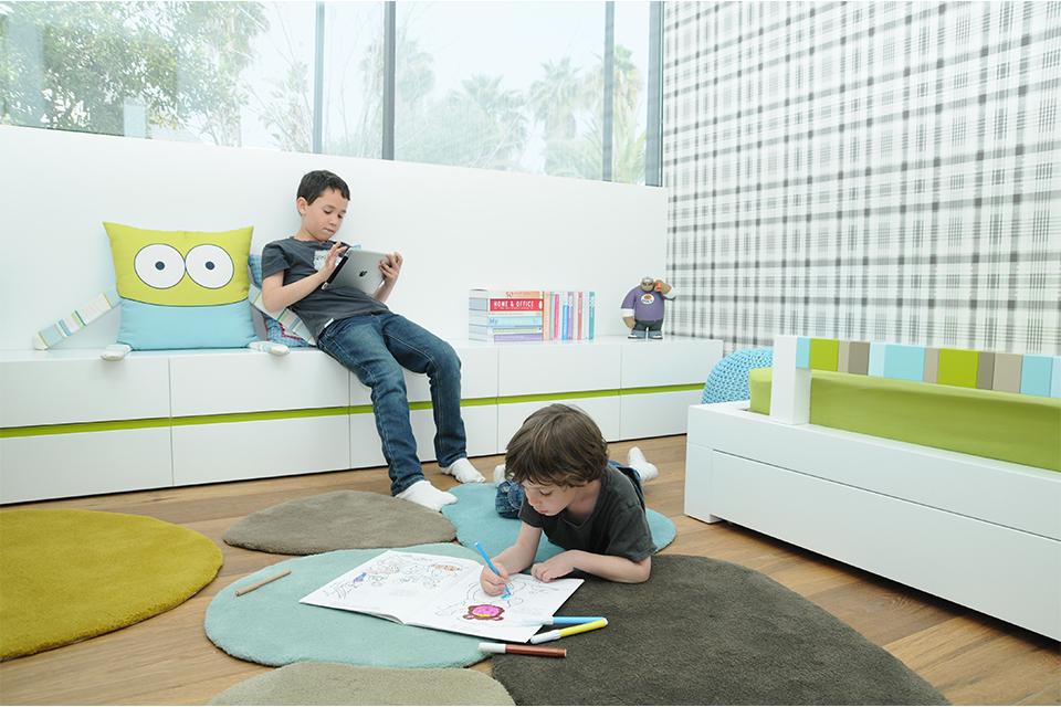 אחסון בחדרי ילדים ונוער