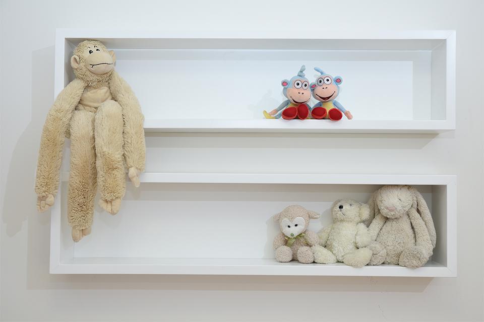מדף מסגרת לחדרי ילדים