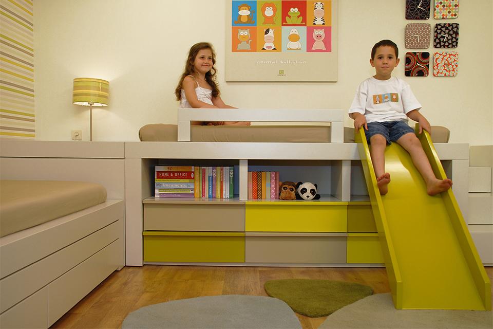 מיטות מעוצבות לחדרי ילדים