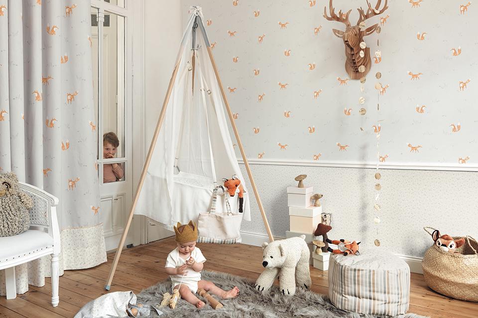 וילונות מעוצבים לחדר ילדים ונוער