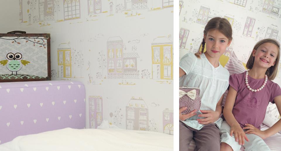 עיצוב קיר חדר אחיות