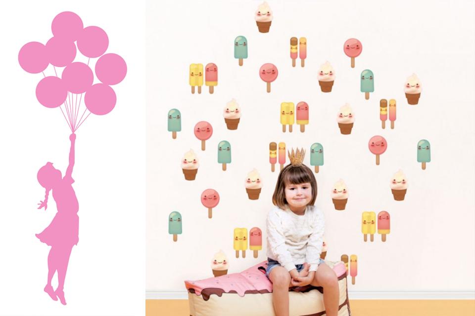 טפט מעוצב לחדר ילדים ונוער