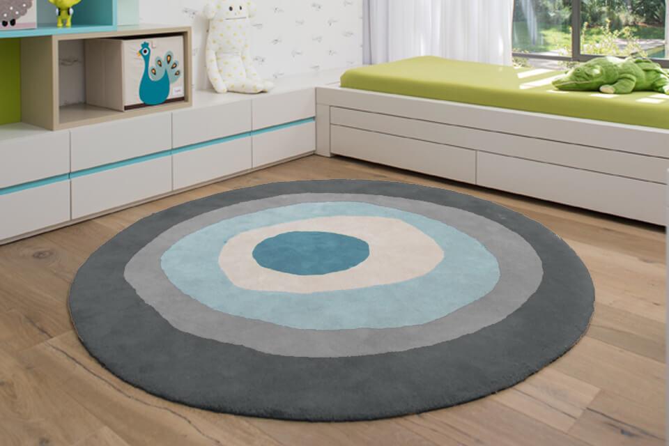 שטיח עגול לחדר ילדים ונוער