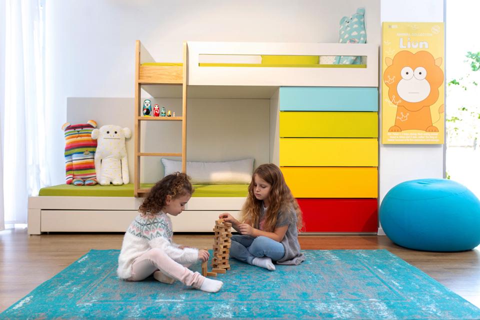 שטיח מעוצב לחדר ילדים ונוער