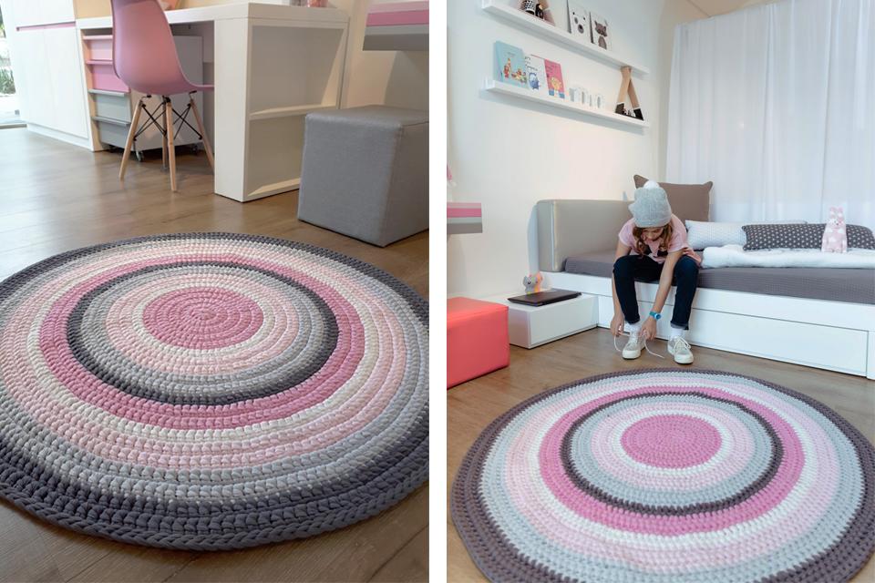 שטיחים עגולים לחדרי ילדים ונוער