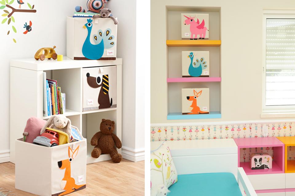 אחסון מעוצב לחדר ילדים ונוער