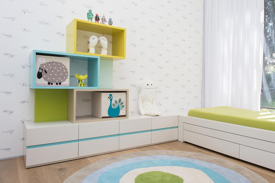 פתרונות אחסון לחדר ילדים ונוער
