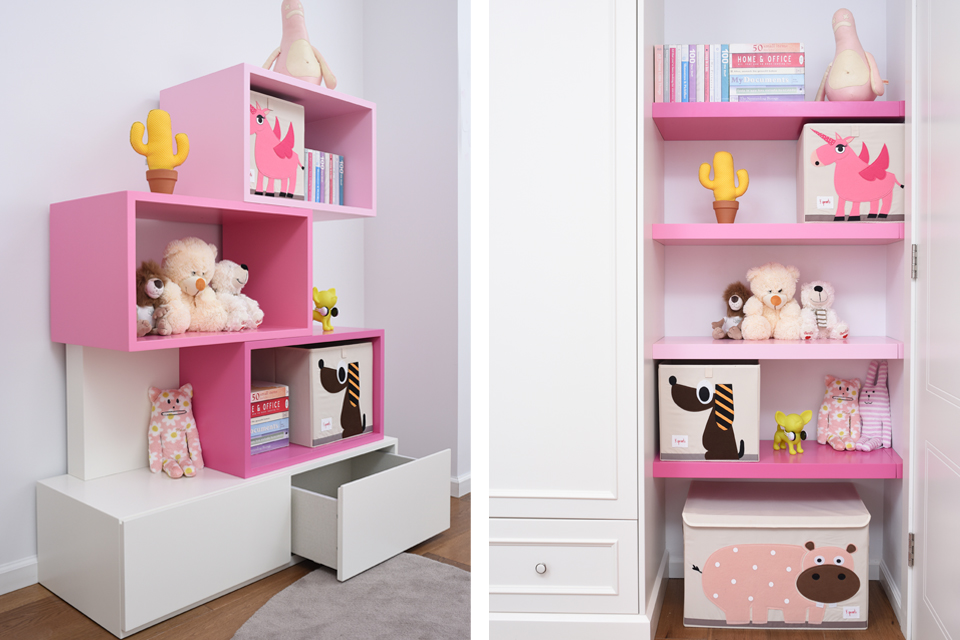 פתרונות אחסון בחדרי ילדים ונוער