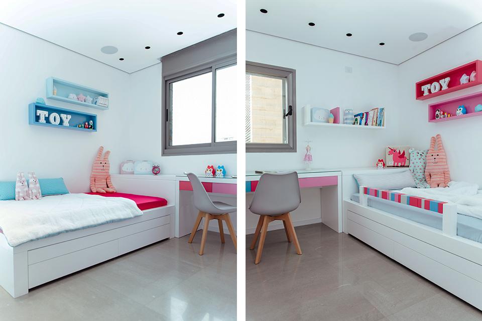 חדרי ילדים בעיצובים אישיים