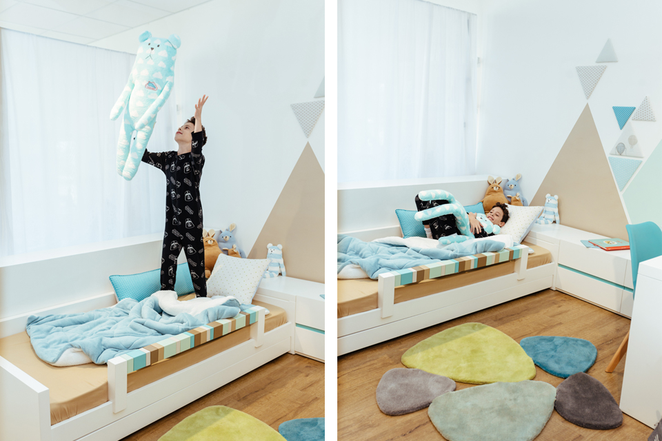 בובות בד לחדרי ילדים