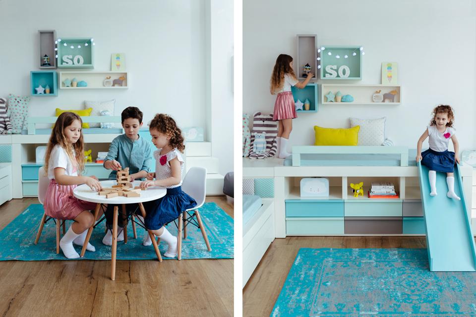 עיצוב חדר משחקים לילדים