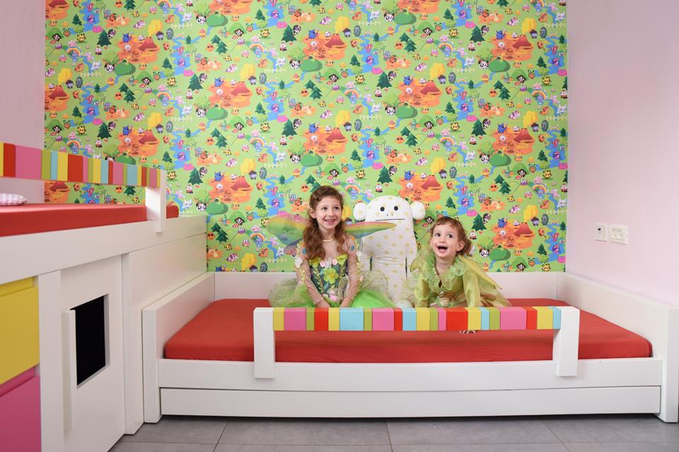 חדר ילדים צבעוני ומיוחד