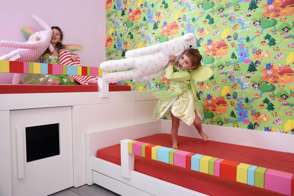 עיצוב חדר ילדים צבעוני ומיוחד