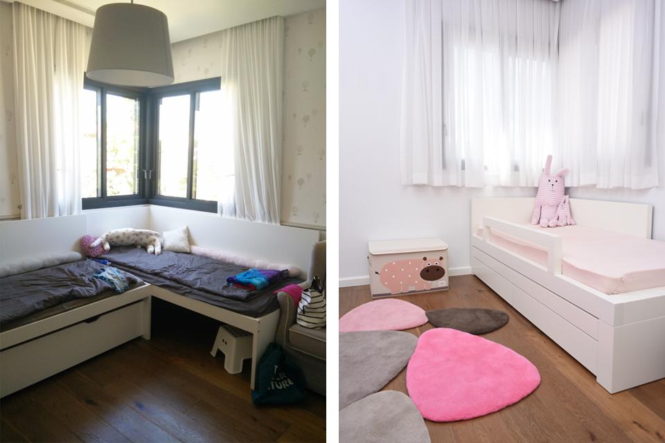 עיצוב חדר ילדים - אז והיום