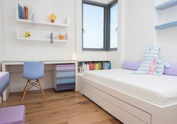תכנון ועיצוב חדר ילדים