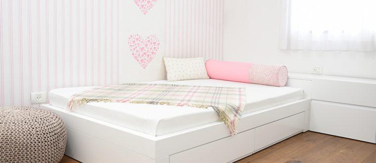 החדר של דנה – חדר לנערה מתבגרת