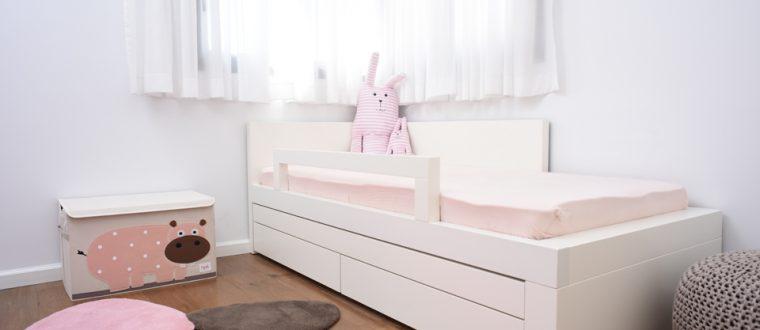 עיצוב חדר ילדים – החדר של מאיה