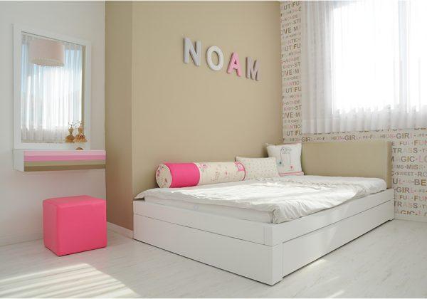 החדר של נועם – שימושיות ונוחות למתבגרת