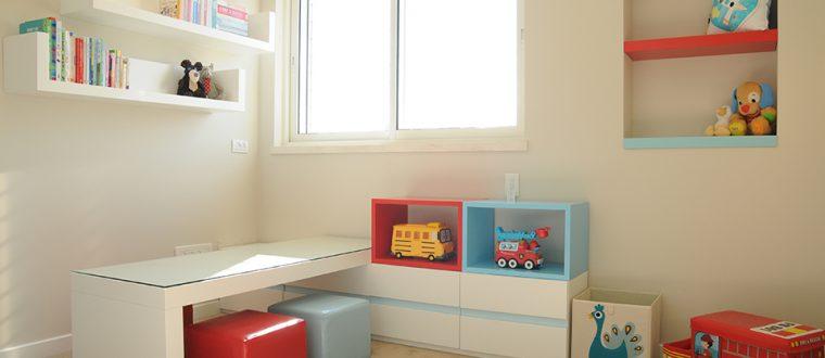 החדר של רואי – ילד בן שנתיים שגדל בינתיים