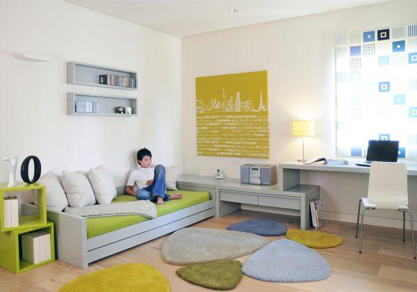 החדר של רותם – חדר נוער מרווח