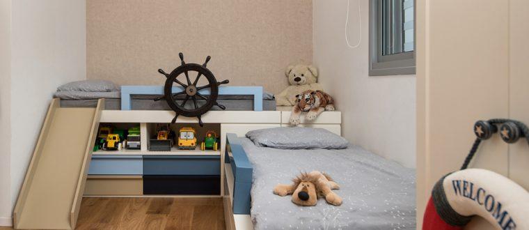 שוטי שוטי ספינתי – חדר בסגנון ים